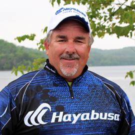 Pro Angler Pete Ponds of Hayabusa Fishing Using Japanese Bass Fishing Hooks