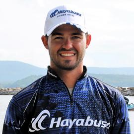 Pro Angler Skylar Hamilton of Hayabusa Fishing Using Japanese Bass Fishing Hooks