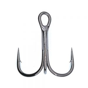 The Hayabusa Fishing TBL 930 Nickel Treble Hooks for Hardbait Fishing Lures: Jerkbaits, Crankbaits, Topwater Lures, and Swimbaits