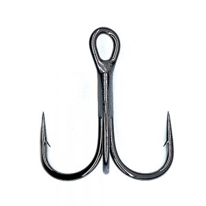The Hayabusa Fishing TBL 930 Black Nickel Treble Hooks for Hardbait Fishing Lures: Jerkbaits, Crankbaits, Topwater Lures, and Swimbaits