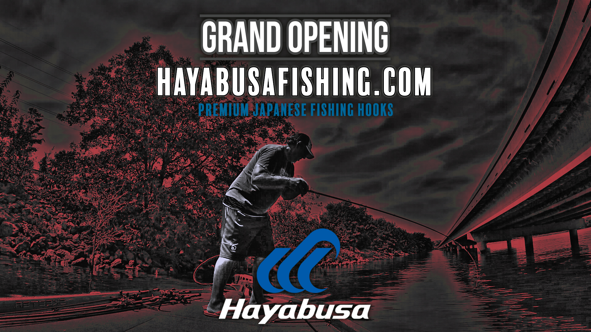 Grand Opening: USA Hayabusa Fishing Website